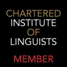 Member of Chartered Instuite of Linguists